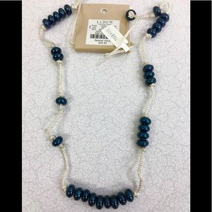 J CREW FACTORY NWT PEARLS ON ROPE NECKLACE! 💙